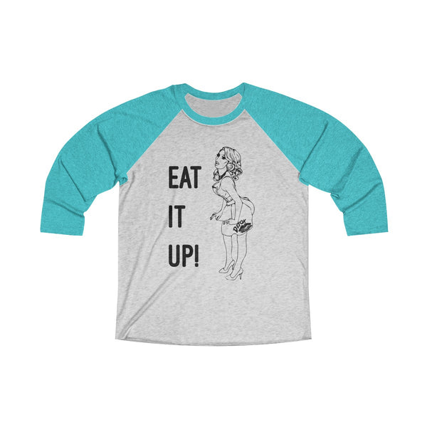 Eat It Up Fixed Long Sleeve Raglan