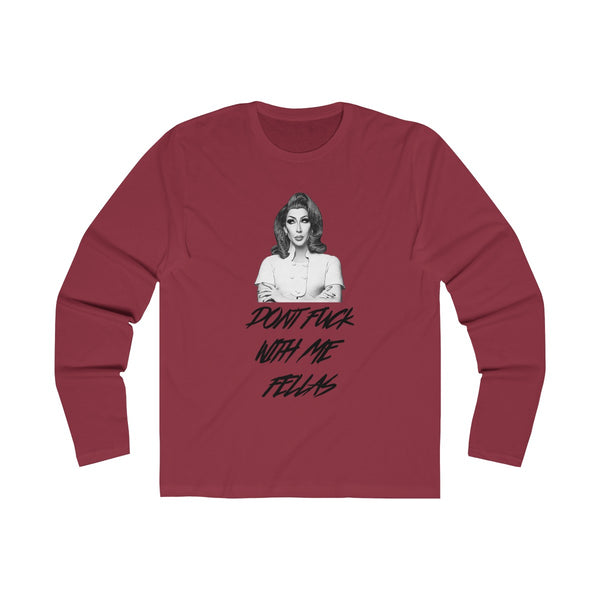 Don't F With D Long Sleeve Tee