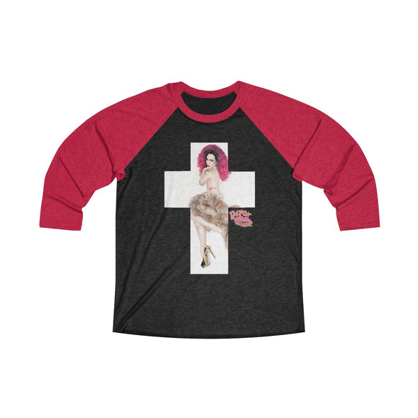 Cross 2X With Detox Lips Long Sleeve Raglan