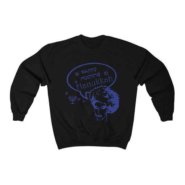 Happy Fucking Hanukkah' Sweatshirt