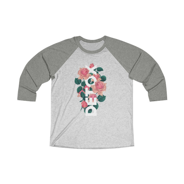 Detox Rose Long Sleeve Raglan
