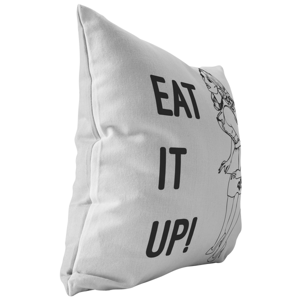 Eat It Up Pillow