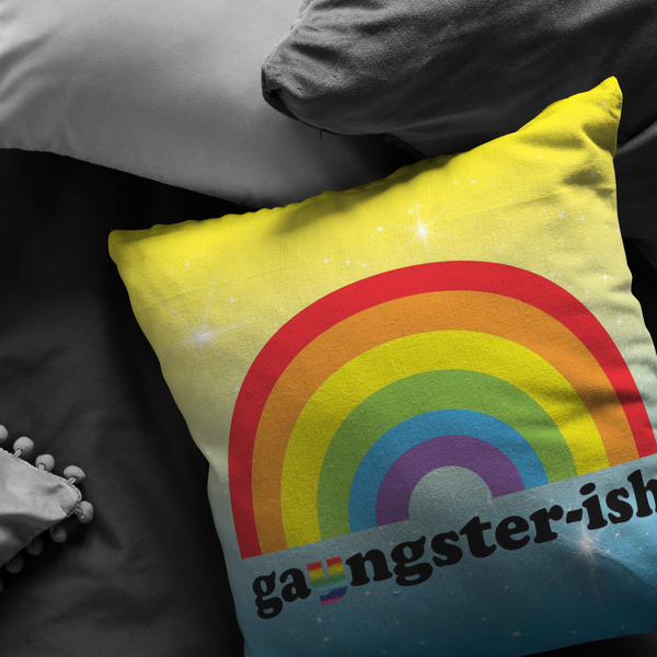 GaYngster-Ish Pillow