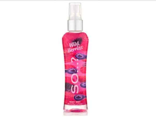 Body Mist by SO...? FRAGRANCE gusto Wild Berries (FRUTTI DI BOSCO)