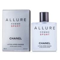 Chanel Allure Homme Sport after shave 100 ml dopobarba lotion apres rasage uomo
