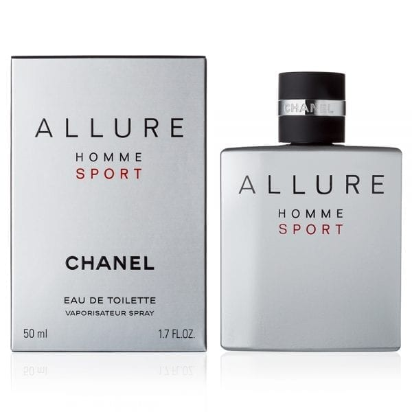 Chanel Allure Homme Sport eau de toilette 50 ml spray profumo uomo