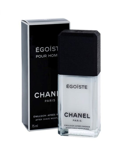 Chanel Egoiste after shave 75 ml moisturizer dopobarba uomo emulsion apres rasage in crema Égoïste