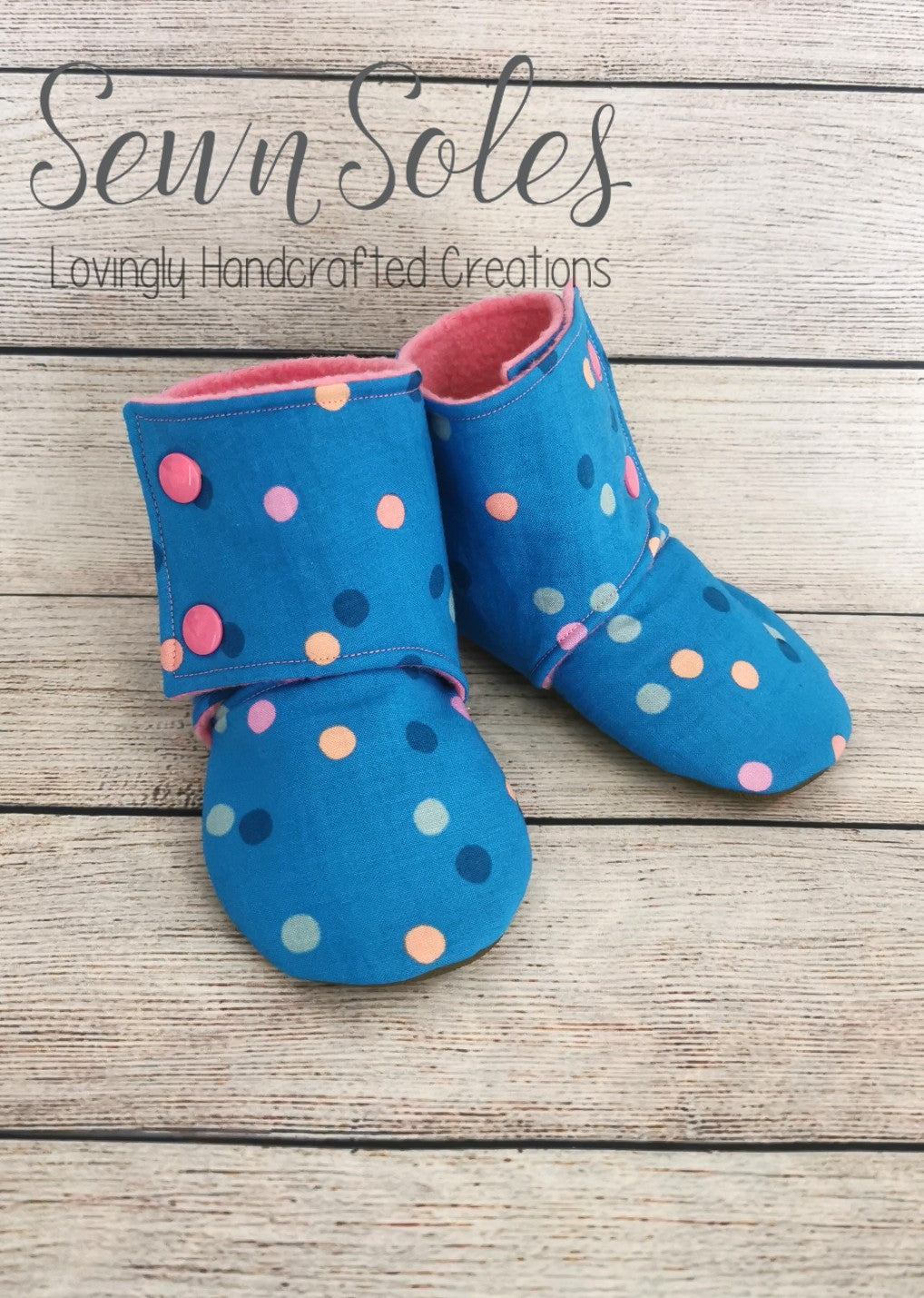 Booties - Size 6-9 Months