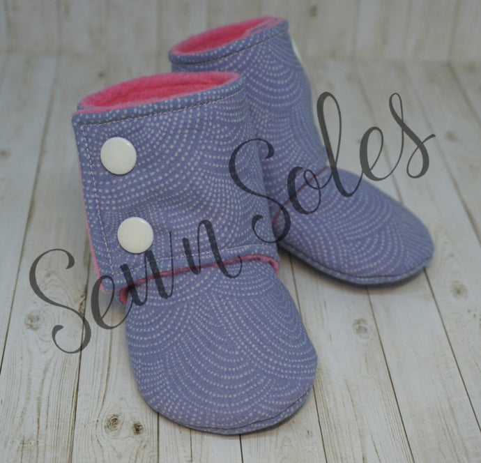 Booties - Size 3-6 Months