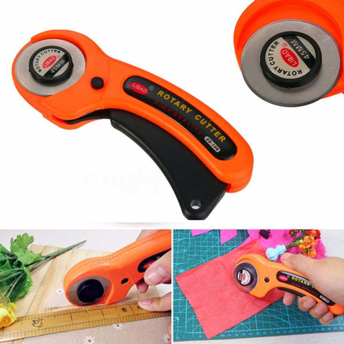 45mm Sharp Round Rotary Cutter Sewing Quilting