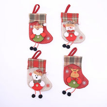 Load image into Gallery viewer, Christmas gift Christmas Stocking Mini Sock Santa
