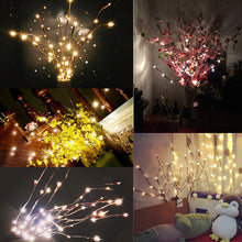 Load image into Gallery viewer, LED Willow Branch Lamp Floral Lights 20 Bulbs Home