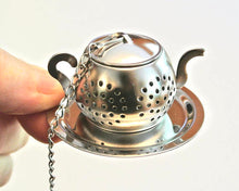 Load image into Gallery viewer, Tea Infuser with Hamsa Hand Charm, Yoga