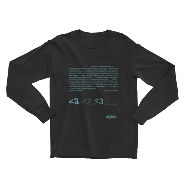 yspjhu long-sleeve tee
