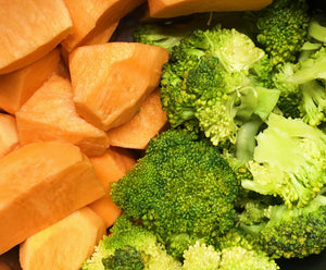 Sweet Potato & Broccoli Mash