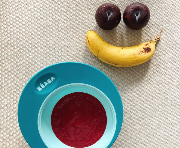 Banana & Plum Coulis
