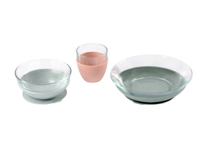 Glass Meal Set