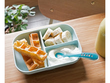 Load image into Gallery viewer, Silicone Meal Set with Divider