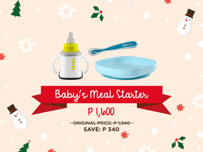 Holiday Bundle: Baby's Meal Starter