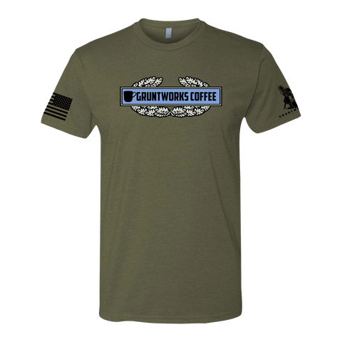 COFFEE INFANTRY BADGE T-SHIRT