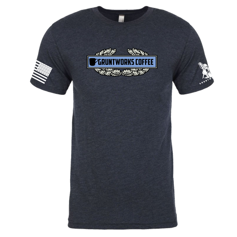 Image of COFFEE INFANTRY BADGE T-SHIRT