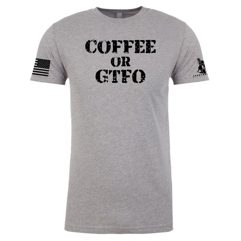 Image of COFFEE OR GTFO T-SHIRT