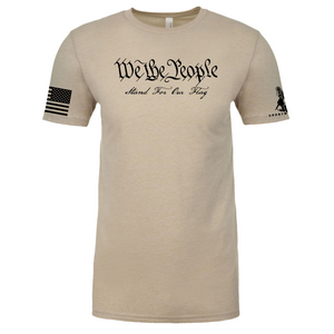 WE THE PEOPLE, WILL STAND FOR THE FLAG- T-SHIRT