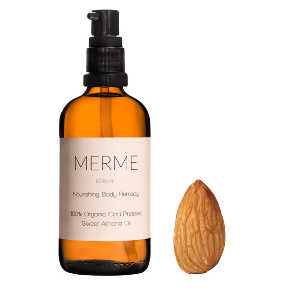 Merme Nourishing body remedy almond oil