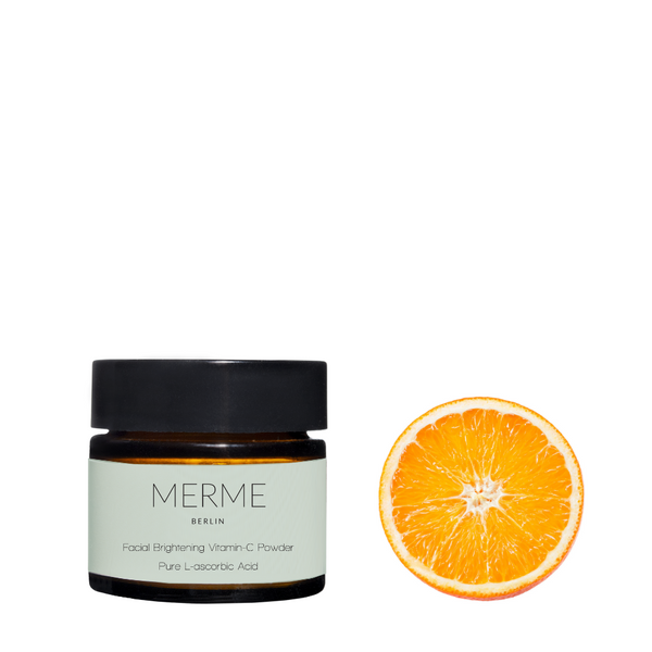 Merme facial brightening Vitamin C powder