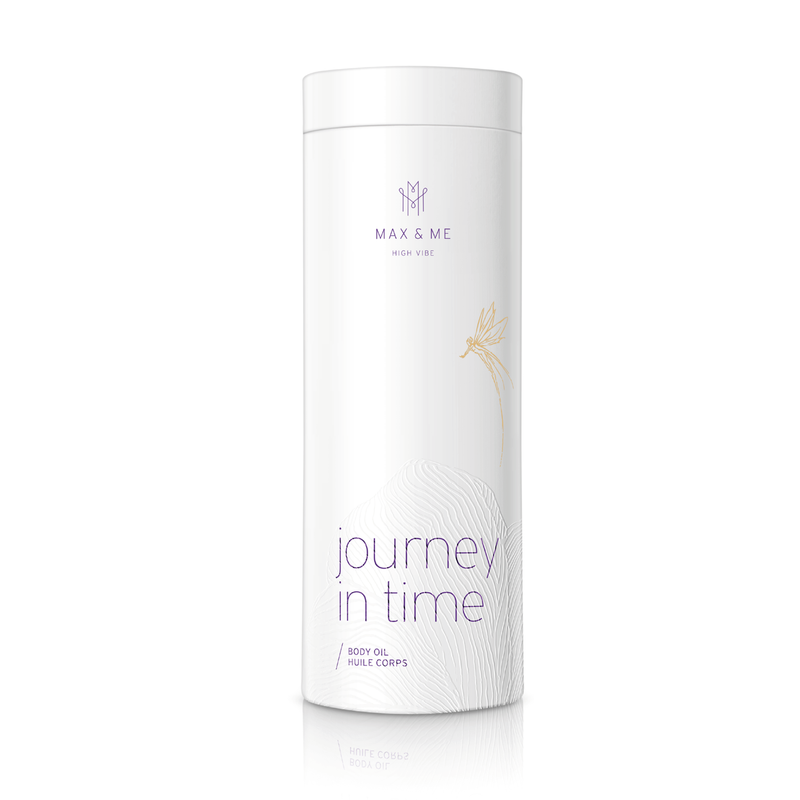 Max and me body oil Journey in time