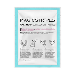Magicstripes, Wake Me Up Collagen Eye Patches, platýnková maska