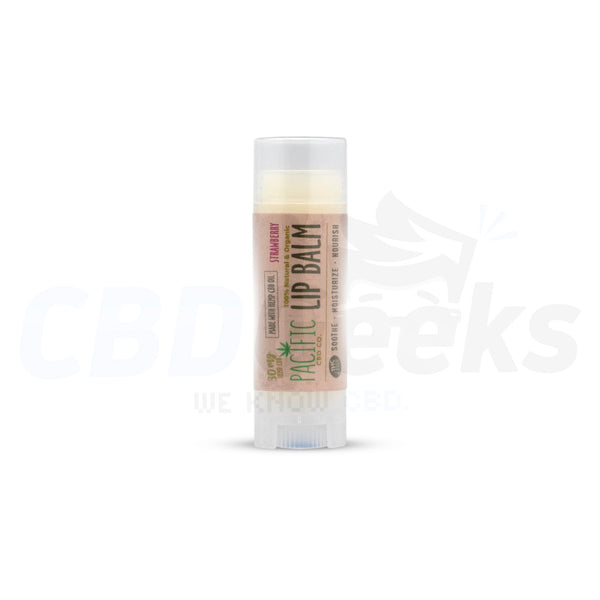 Pacific Co. - CBD Lip Balm - Strawberry (30mg) - cbdgeeks