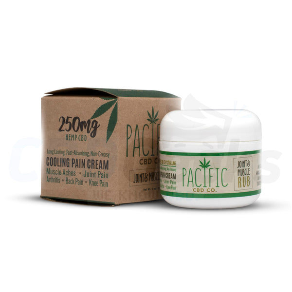 Pacific Co. - CBD Joint & Muscle rub (250mg) - cbdgeeks