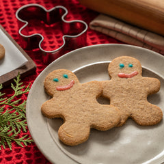 keto gingerbread man
