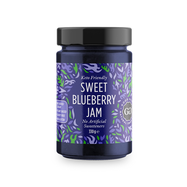 Good Good Sweet Blueberry jam, 300 ml
