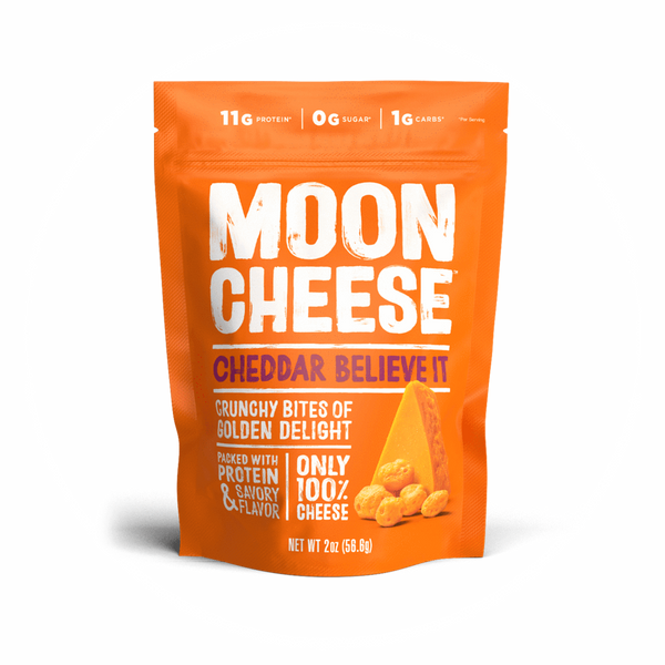 Moon Cheese: Cheddar Believe it