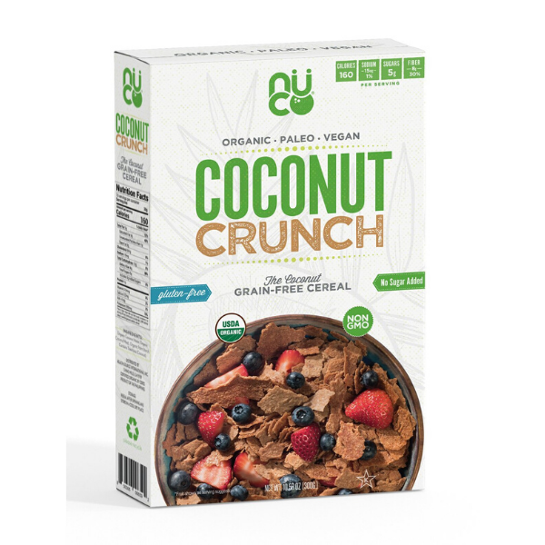 Nuco: Organic Coconut Crunch Cereal, 300g  (86)