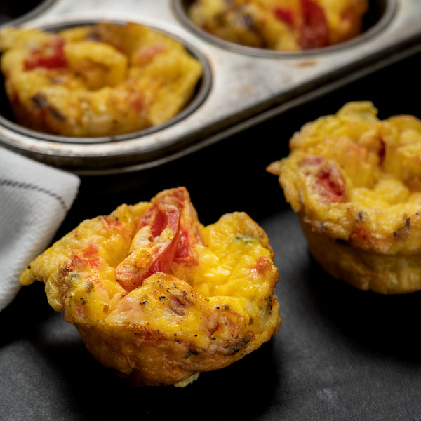Mini Quiche : Vegetarian