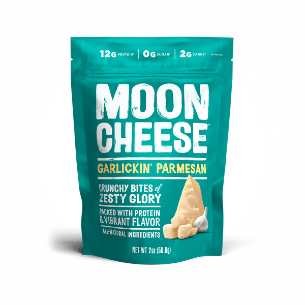 Moon Cheese: Garlickin Parmesan