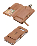 FLOVEME  Leather Phone Case Wallet for iPhone