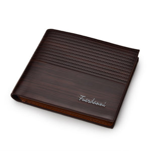 Fuerdanni Slim Leather Wallet