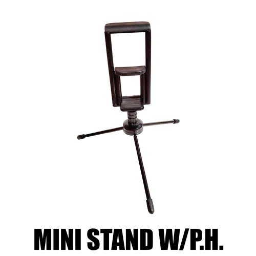 Steel Mini Tripod with Phone Holder