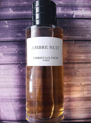 Buy Dior Ambre Nuit Fragrance Decants Samples Worldwide Shipping