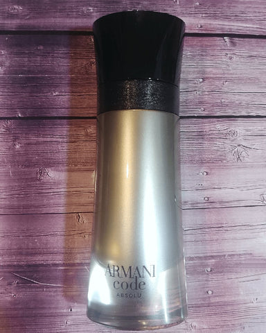 Buy Armani Code Absolu decants samples 100% Genuine / Worldwide Shipping
