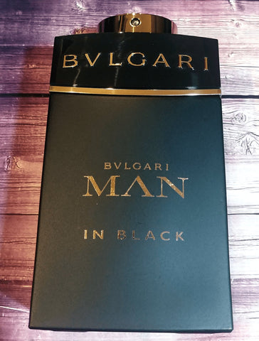 Buy Bvlgari Man in Black decants samples 100% Genuine / Worldwide Shipping
