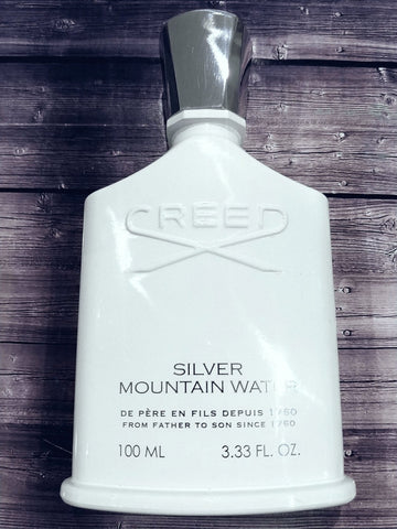 Buy Creed Silver Mountain Water Samples Decants 100% Genuine Worldwide Shipping