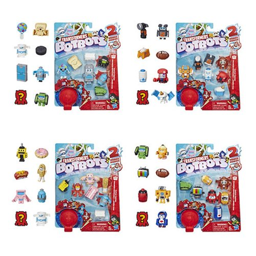 Transformers Botbots Collectible Figure 8-Packs Wave 1 Case