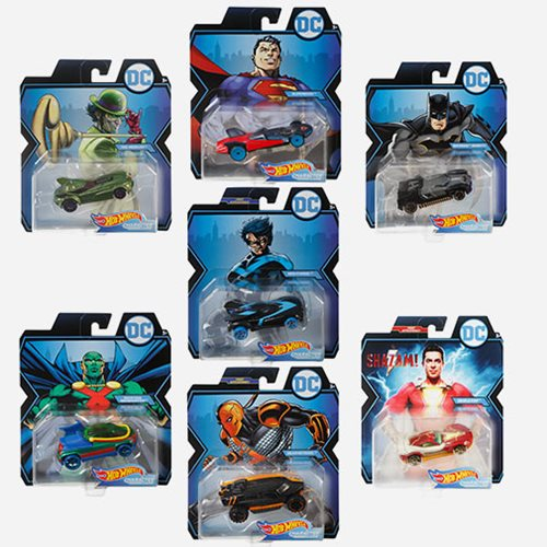 DC Universe Hot Wheels 2019 Wave 4