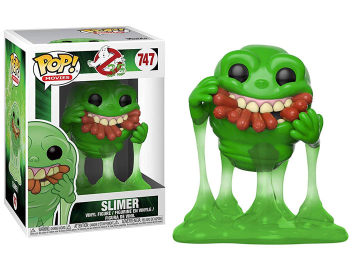 Ghostbusters Slimer with Hot Dogs Pop! Vinyl Figure #747