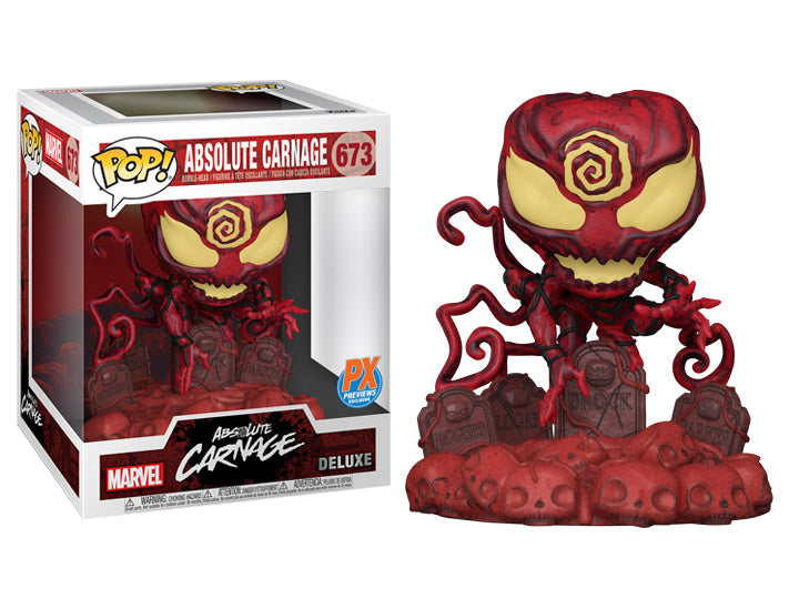 Marvel Heroes Absolute Carnage Deluxe Pop! Vinyl Figure # 673- Previews Exclusive